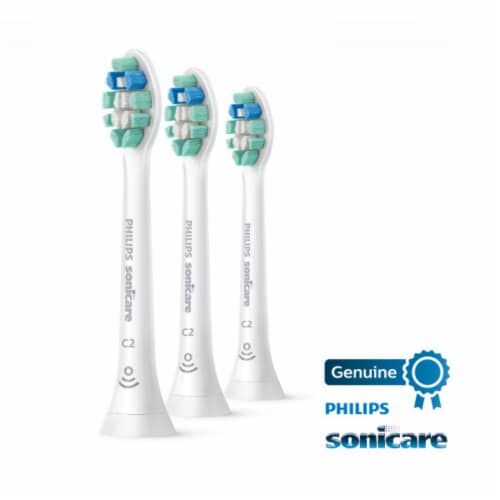 Philips Sonicare C2 Optimal Plaque Control Brush Heads Perspective: front