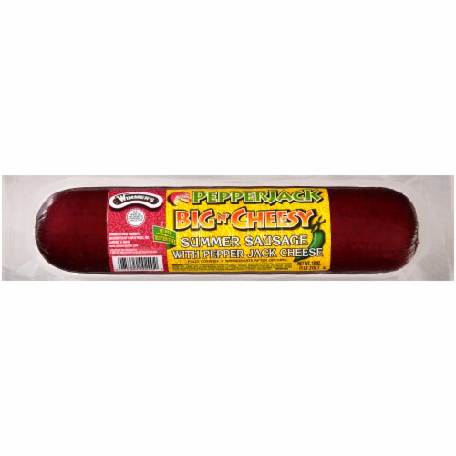 Wimmer's Pepperjack Summer Sausage Perspective: front