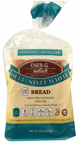 Ener-G Select Gluten-Free Deli Style White Bread Perspective: front