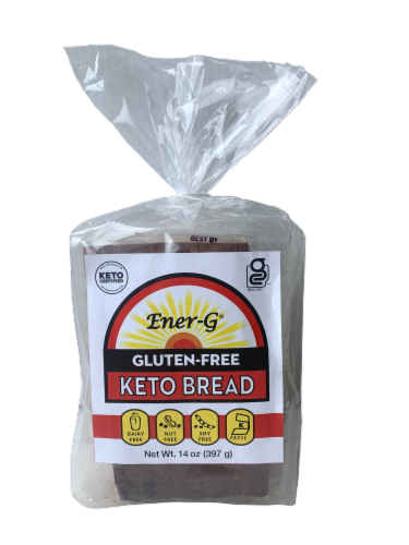 Ener-G Gluten Free Keto Bread Perspective: front