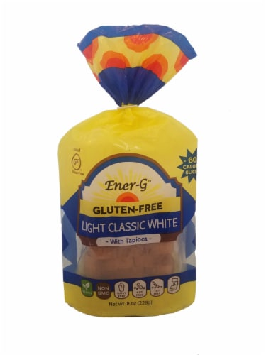 Ener-G Gluten Free Light Classic White Tapioca Loaf Perspective: front