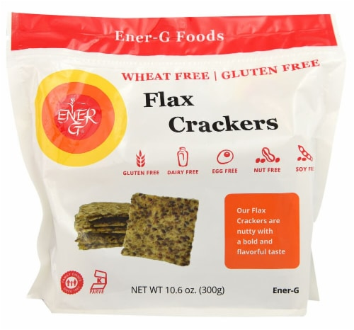 Ener-G Flax Crackers Perspective: front
