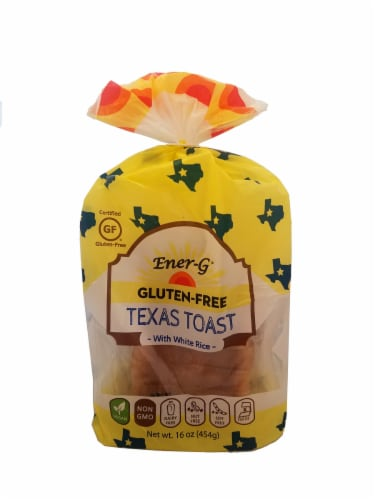 Ener-G Gluten-Free Texas Toast White Rice Loaf Perspective: front