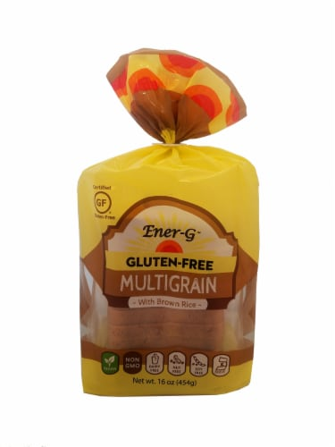 Ener-G Gluten Free Multigrain with Brown Rice Loaf Perspective: front