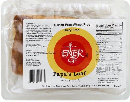 Ener-G Papas Loaf Perspective: front