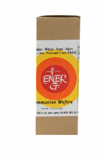 Ener-G Communion Wafers Perspective: front