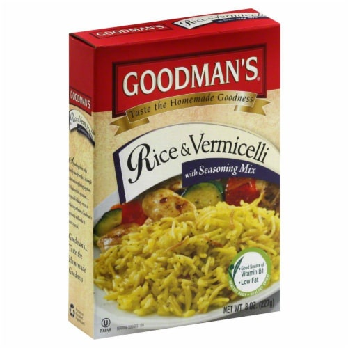Goodmans Vermicelli Chicken Rice Perspective: front