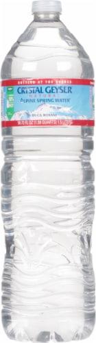 King Soopers - Crystal Geyser Alpine Spring Water, 1 5 L