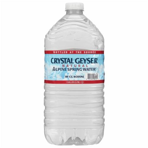 Crystal Geyser Alpine Spring Water Perspective: front