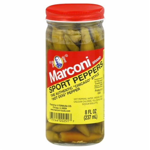 Marconi Hot Sport Peppers Perspective: front