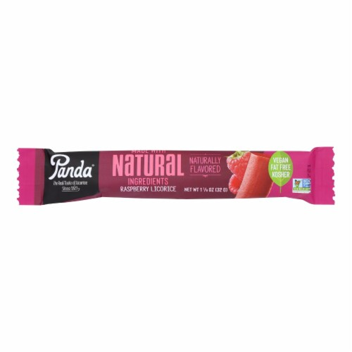 Panda Raspberry Flavored Bar Perspective: front