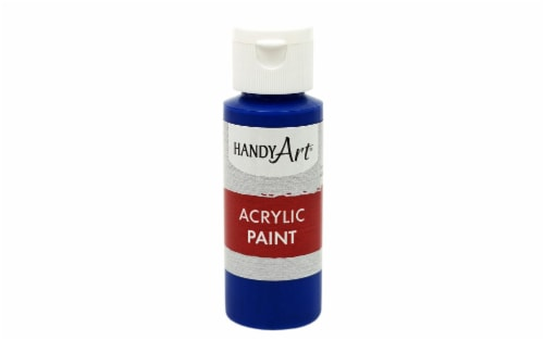Handy Art Acrylic Paint 2oz Student Phthalo Blue Perspective: front