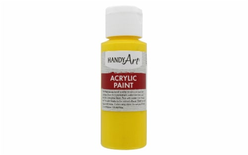 Handy Art Student Acrylic Paint - Primary Yellow Perspective: front