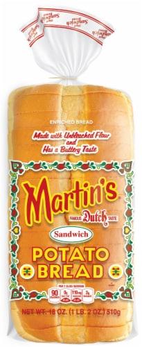 Martin's Sandwich Potato Bread Perspective: front