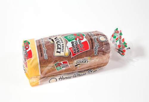Rotella's Italian Bakery Honey Wheat Nugget Bread Perspective: front