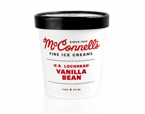 McConnell's Vanilla Bean Ice Cream Perspective: front