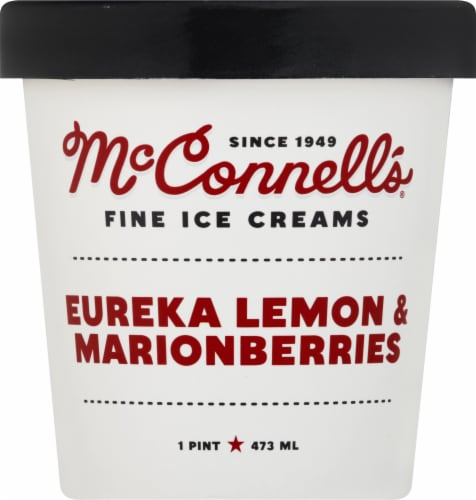 McConnell's Eureka Lemon & Marionberries Ice Cream Perspective: front