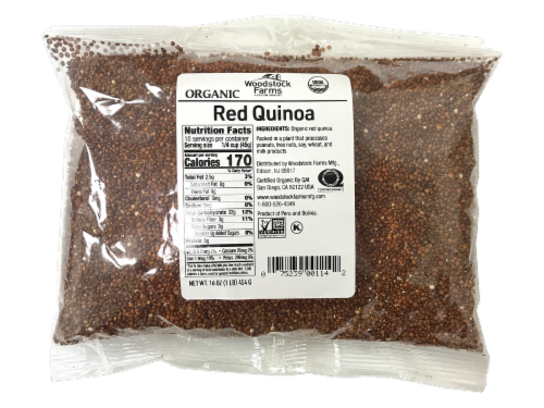 Woodstock Farms Organic Red Quinoa Perspective: front