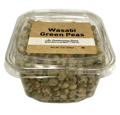 Woodstock Farms Wasabi Green Peas Perspective: front