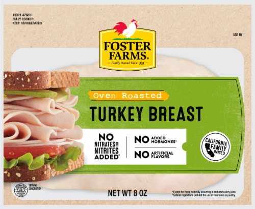 Foster Farms Oven Roasted Turkey Breast Perspective: front