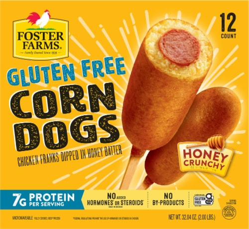 Foster Farms Gluten Free Corn Dogs Perspective: front