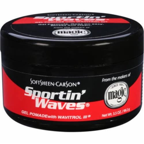 Sportin' Waves Gel Pomade Perspective: front