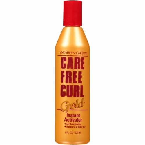 SoftSheen-Carson Care Free Curl Gold Instant Activator Perspective: front