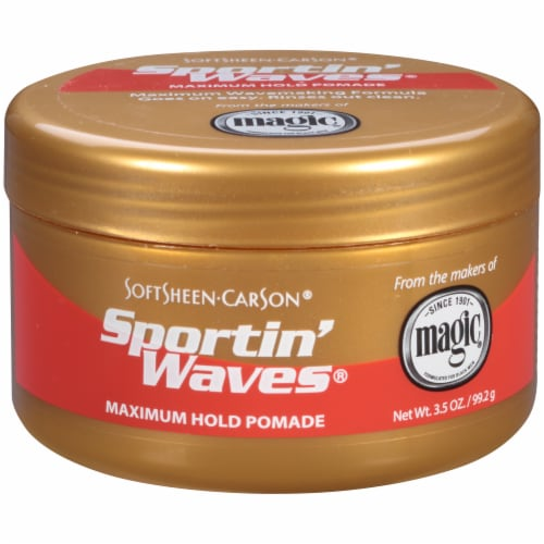 SoftSheen-Carson Sportin Waves Max Hold Pomade Perspective: front
