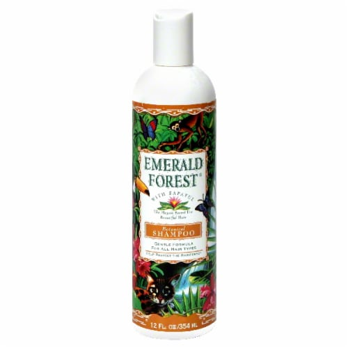 Emerald Forest Botanical Shampoo Perspective: front