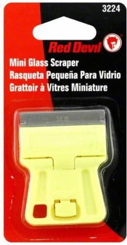 Red Devil® Mini Glass Scraper Perspective: front