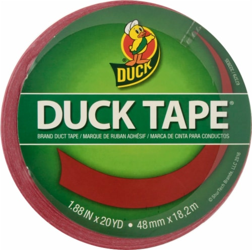 Duck® Duck Tape® Red Duct Tape Perspective: front