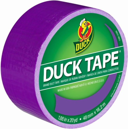 Duck® Purple Duct Tape Perspective: front