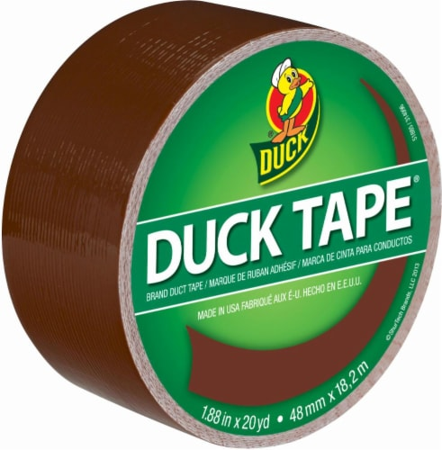 Duck® Brand Color Duct Tape - 1.88 Inch x 20 Yard - Brown Perspective: front