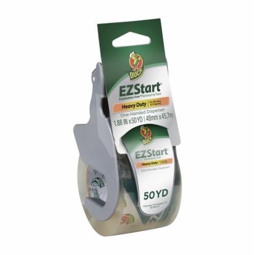 Duck® EZ Start One Handed Packaging Tape Dispenser Perspective: front