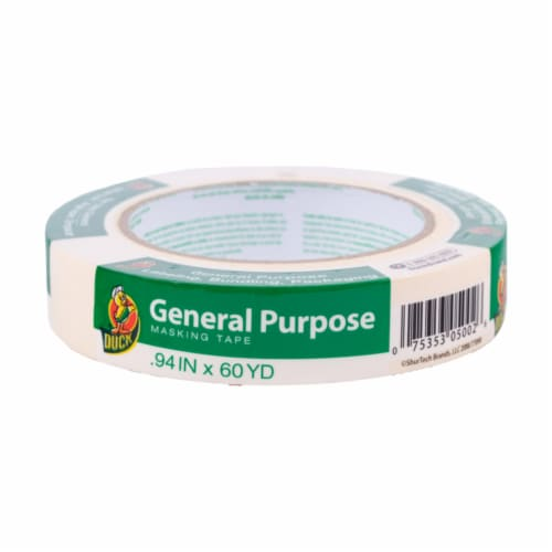 Duck® Brand General Purpose Masking Tape - Tan Perspective: front