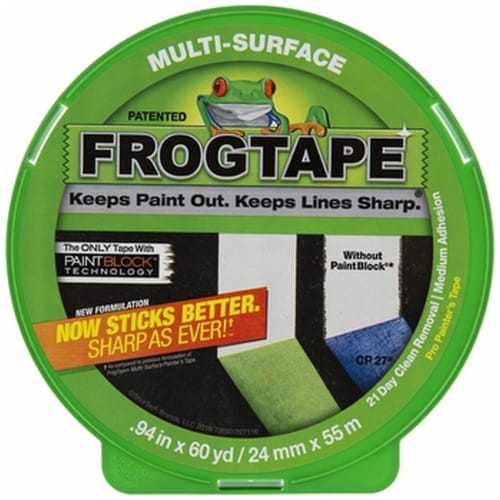 FrogTape® Multi-Surface Painter's Tape Perspective: front