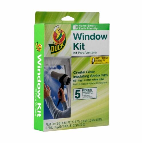 Duck® Shrink Film Indoor Window Insulation Kit - 5 Pack Perspective: front