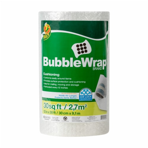 Duck® Original Bubble Wrap® Cushioning - Clear Perspective: front