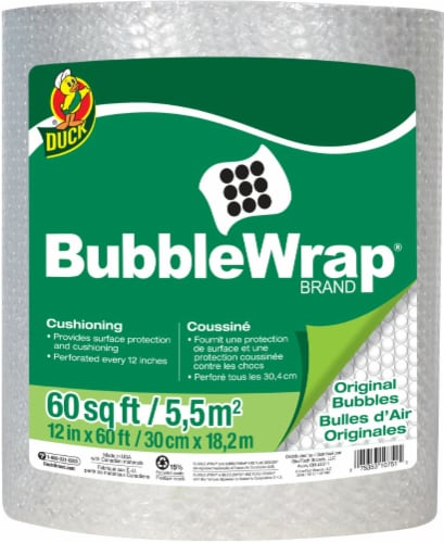 Duck® All-Purpose Bubble Wrap Perspective: front