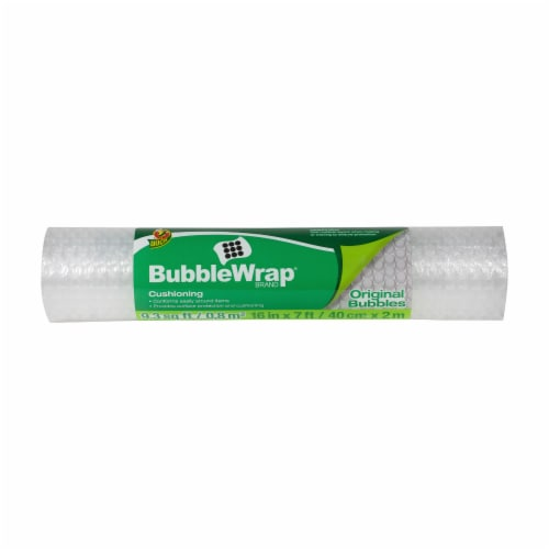 Duck® Bubble Wrap® Cushioning - Clear Perspective: front