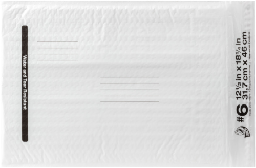 Duck® Poly Bubble Mailer Perspective: front