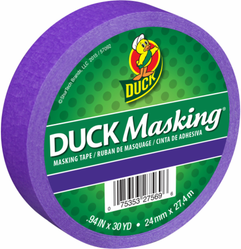 Duck Masking® Tape - Purple Perspective: front