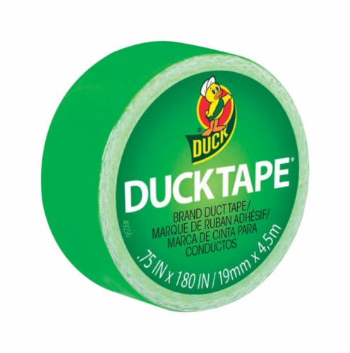 Duck® Brand Lime Green Duct Tape Perspective: front
