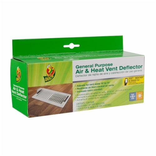 Duck® General Purpose Air & Heat Deflector Perspective: front