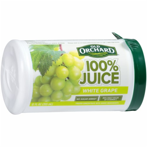 Old Orchard 100% White Grape Juice Perspective: front