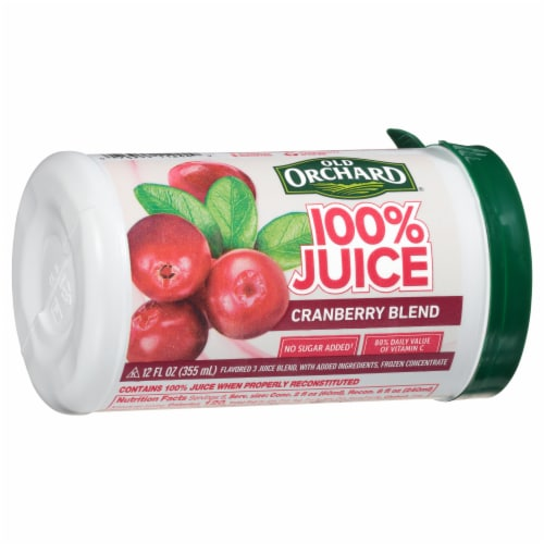 Old Orchard Cranberry Blend Juice Concentrate Perspective: front