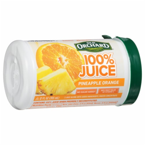 Old Orchard Pineapple Orange Juice Concentrate Perspective: front