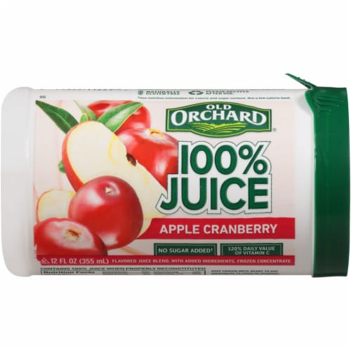 Old Orchard Apple Cranberry Juice Concentrate Perspective: front