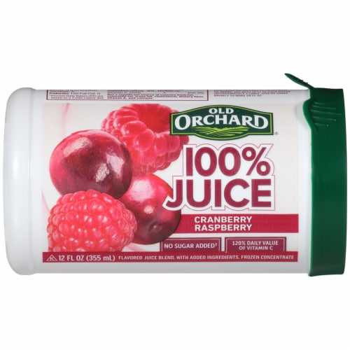 Old Orchard Cranberry Raspberry Juice Concentrate Perspective: front