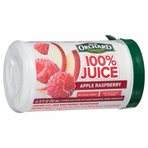 Old Orchard Apple Raspberry Juice Concentrate Perspective: front